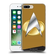 Official Star Trek Uniforms And Badges Tng Operations Soft Gel Case For Apple Iphone 7 Plus