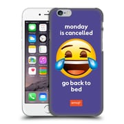 Official Emoji Speak Monday Is Cancelled Hard Back Case For Apple Iphone 6 / 6S