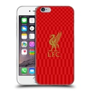 Official Liverpool Football Club Liver Bird Gold On Red Kit Soft Gel Case For Apple Iphone 6 / 6S