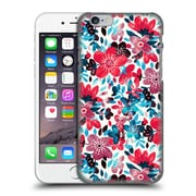 Official Micklyn Le Feuvre Floral Patterns 2 Happy Red Flower Collage Hard Back Case For Apple Iphone 6 / 6S
