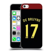 Official Manchester City Man City Fc Away Kit 2016/17 1 De Bruyne Soft Gel Case For Apple Iphone 5C
