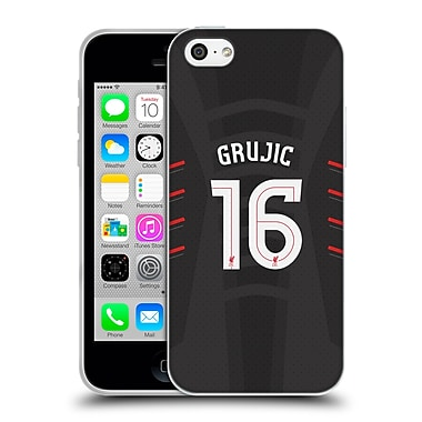 Official Liverpool Football Club Players Away Kit 16/17 Group 2 Grujic Soft Gel Case For Apple Iphone 5C