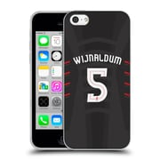 Official Liverpool Football Club Players Away Kit 16/17 Group 1 Wijnaldum Soft Gel Case For Apple Iphone 5C