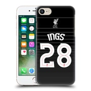Official Liverpool Football Club Shirt New Away Shirt Black Ings Hard Back Case For Apple Iphone 7