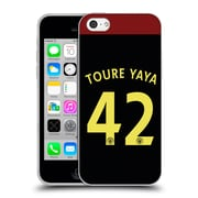 Official Manchester City Man City Fc Away Kit 2016/17 2 Toure Soft Gel Case For Apple Iphone 5C