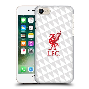 Official Liverpool Football Club Liver Bird Red On White Kit Hard Back Case For Apple Iphone 7