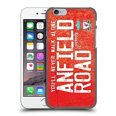 Official Liverpool Football Club Crest Never Walk Alone Anfield Road Red Hard Back Case For Apple Iphone 6 / 6S