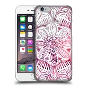 Official Micklyn Le Feuvre Mandala 2 Burgundy Blush Watercolour Hard Back Case For Apple Iphone 6 / 6S