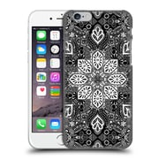 Official Micklyn Le Feuvre Mandala Lace In White On Black Hard Back Case For Apple Iphone 6 / 6S