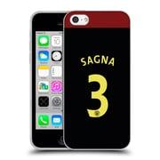 Official Manchester City Man City Fc Away Kit 2016/17 1 Sagna Soft Gel Case For Apple Iphone 5C