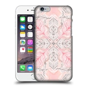 Official Micklyn Le Feuvre Mandala 2 Peaches And Cream Doodle Tile Pattern Hard Back Case For Apple Iphone 6 / 6S