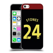 Official Manchester City Man City Fc Away Kit 2016/17 1 Stones Soft Gel Case For Apple Iphone 5C