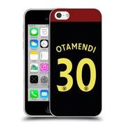 Official Manchester City Man City Fc Away Kit 2016/17 1 Otamendi Soft Gel Case For Apple Iphone 5C