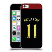 Official Manchester City Man City Fc Away Kit 2016/17 1 Kolarov Soft Gel Case For Apple Iphone 5C