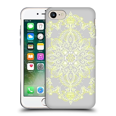 Official Micklyn Le Feuvre Mandala 3 Pale Lemon Yellow Lace Soft Gel Case For Apple Iphone 7