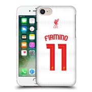 Official Liverpool Football Club Shirt New Away Shirt White Firmino Hard Back Case For Apple Iphone 7