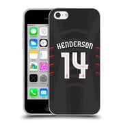 Official Liverpool Football Club Players Away Kit 16/17 Group 1 Henderson Soft Gel Case For Apple Iphone 5C