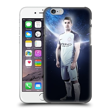 Official Manchester City Man City Fc Power Players Agaeero Hard Back Case For Apple Iphone 6 / 6S