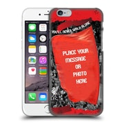 Custom Customised Personalised Liverpool Fc Red Banner Hard Back Case For Apple Iphone 6 / 6S