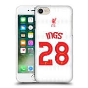 Official Liverpool Football Club Shirt New Away Shirt White Ings Hard Back Case For Apple Iphone 7