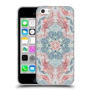 Official Micklyn Le Feuvre Mandala Fancy Soft Blue Soft Gel Case For Apple Iphone 5C