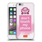 Official Emoji Pastel Sass Do Not Touch Soft Gel Case For Apple Iphone 6 / 6S