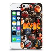 Official Ac/Dc Acdc Button Pins Logo Hard Back Case For Apple Iphone 5 / 5S / Se