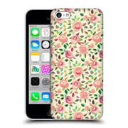 Official Micklyn Le Feuvre Florals 2 Pastel Roses In Blush Pink And Cream Hard Back Case For Apple Iphone 5C