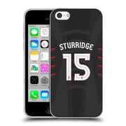 Official Liverpool Football Club Players Away Kit 16/17 Group 1 Sturridge Soft Gel Case For Apple Iphone 5C