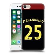 Official Manchester City Man City Fc Away Kit 2016/17 2 Fernandinho Hard Back Case For Apple Iphone 7