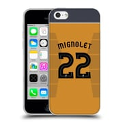 Official Liverpool Football Club Players Away Kit 16/17 Group 1 Mignolet Soft Gel Case For Apple Iphone 5C