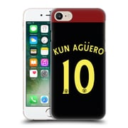 Official Manchester City Man City Fc Away Kit 2016/17 2 Kun Agaeero Hard Back Case For Apple Iphone 7