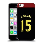 Official Manchester City Man City Fc Away Kit 2016/17 2 Navas Soft Gel Case For Apple Iphone 5C