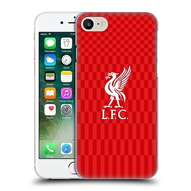 Official Liverpool Football Club Liver Bird White On Red Kit Hard Back Case For Apple Iphone 7
