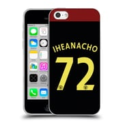 Official Manchester City Man City Fc Away Kit 2016/17 2 Iheanacho Soft Gel Case For Apple Iphone 5C