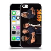 Official Ac/Dc Acdc Group Photo Band Studio Shot Soft Gel Case For Apple Iphone 5C