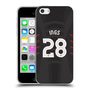 Official Liverpool Football Club Players Away Kit 16/17 Group 1 Ings Soft Gel Case For Apple Iphone 5C