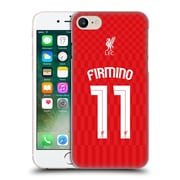 Official Liverpool Football Club Shirt New Home Shirt Red Firmino Hard Back Case For Apple Iphone 7