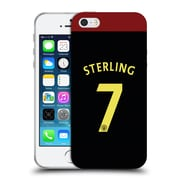Official Manchester City Man City Fc Away Kit 2016/17 2 Sterling Soft Gel Case For Apple Iphone 5 / 5S / Se