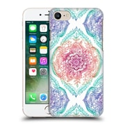 Official Micklyn Le Feuvre Floral Patterns Indian Ink Rainbow Version Hard Back Case For Apple Iphone 7