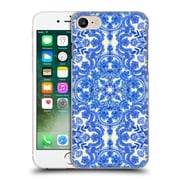 Official Micklyn Le Feuvre Floral Patterns Cobalt Blue And China White Hard Back Case For Apple Iphone 7