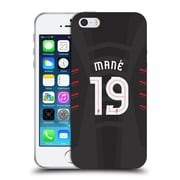 Official Liverpool Football Club Players Away Kit 16/17 Group 2 Mane Soft Gel Case For Apple Iphone 5 / 5S / Se