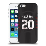 Official Liverpool Football Club Players Away Kit 16/17 Group 2 Lallana Soft Gel Case For Apple Iphone 5 / 5S / Se