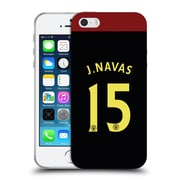 Official Manchester City Man City Fc Away Kit 2016/17 2 Navas Soft Gel Case For Apple Iphone 5 / 5S / Se