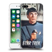 Official Star Trek Spock Phaser Soft Gel Case For Apple Iphone 7 Plus