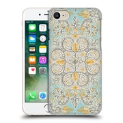Official Micklyn Le Feuvre Floral Patterns Grey And Yellow Hard Back Case For Apple Iphone 7