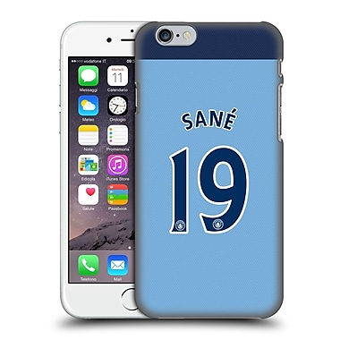 Official Manchester City Man City Fc Player Home Kit 2016/17 Group 2 Sana%Hard Back Case For Apple Iphone 6 / 6S