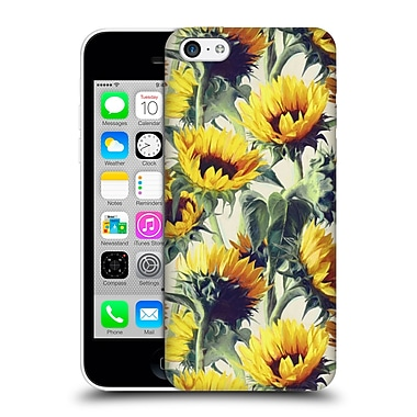 Official Micklyn Le Feuvre Florals Sunflowers Forever Hard Back Case For Apple Iphone 5C