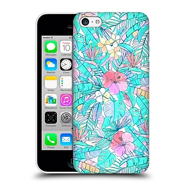 Official Micklyn Le Feuvre Florals Pretty Pastel Hawaiian Hard Back Case For Apple Iphone 5C