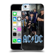 Official Ac/Dc Acdc Group Photo Garage Soft Gel Case For Apple Iphone 5C